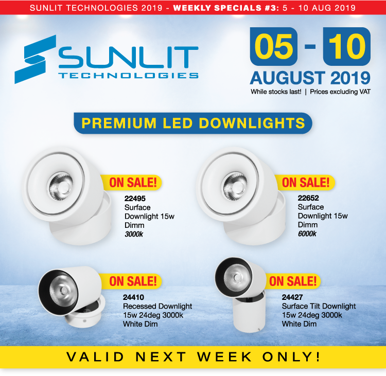 Sunlit Technologies Weekly Specials #3 (Aug-5-10)